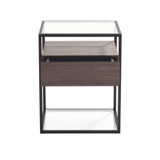 Aurelle Home Walnut Side Table