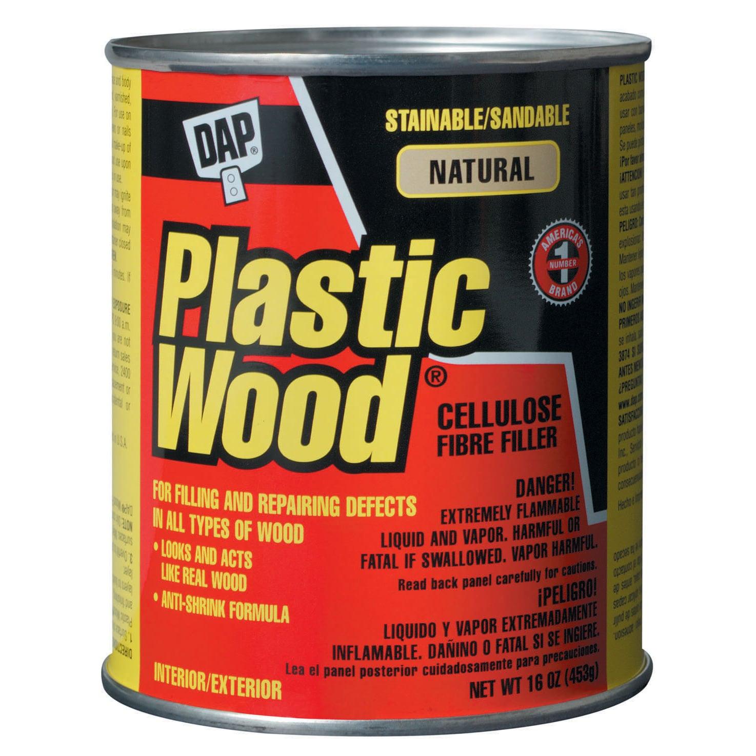 DAP 00529 16 Oz Natural Plastic Wood Carpenter's Latex Wo...