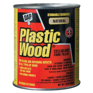 Dap 00529 16 Oz Natural Plastic Wood Carpenter's Latex Wood Filler