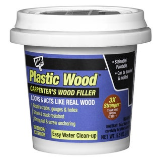 Dap 08116 5.5 Oz Red Oak Plastic Wood Carpenter's Latex Wood Filler