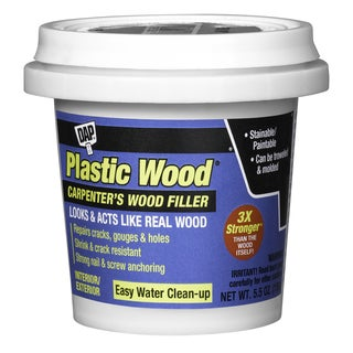 Dap 08135 8 Oz Natural Plastic Wood Carpenter's Latex Wood Filler