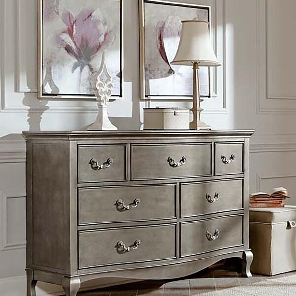 Kensington Antique Silver 7-Drawer Dresser - Shop Kensington Antique Silver 7-Drawer Dresser - Free Shipping