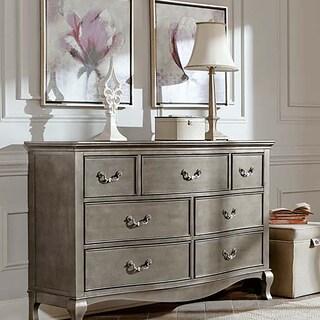 Kensington Antique Silver 7-Drawer Dresser