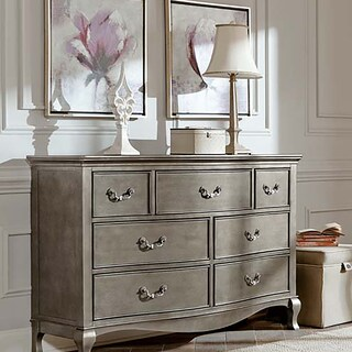 Kensington Antique Silver 7-Drawer Dresser