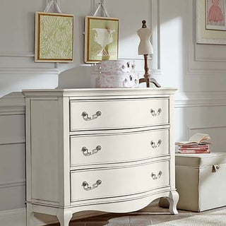 Kensington Antique White 3-drawer Dresser