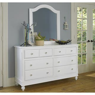 Lake House White 8-drawer Dresser and Mirror|https://ak1.ostkcdn.com/images/products/12545851/P19348408.jpg?impolicy=medium