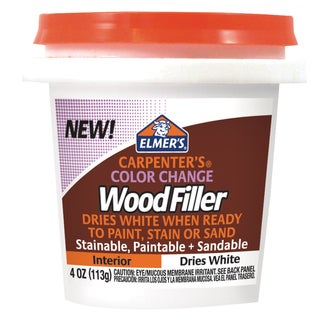 Elmer's E915 4 Oz White Carpenter's Color Change Wood Filler