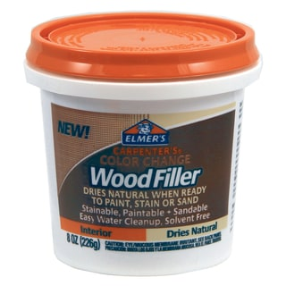 Elmer's E913 8 Oz Natural Carpenter's Color Change Wood Filler