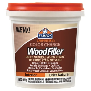 Elmer's E914 16 Oz Natural Carpenter's Color Change Wood Filler