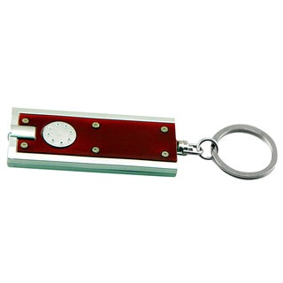 "Sentry LED15 2-3/8"" Burgundy LED Keychain Flashlight"