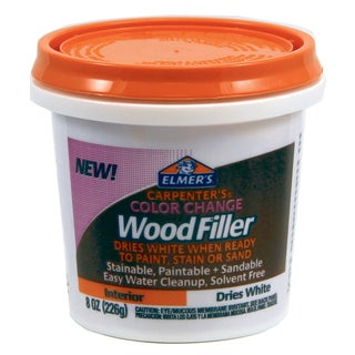 Elmer's E916 8 Oz White Carpenter's Color Change Wood Filler
