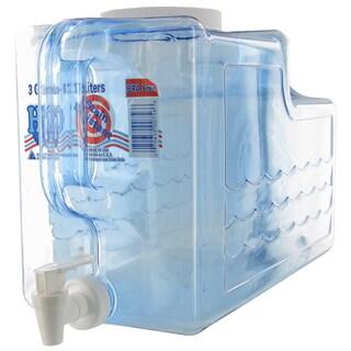 Arrow Plastic 00756 3 Gallon Beverage Dispenser
