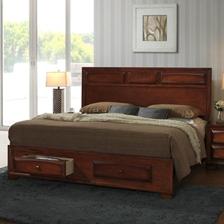 oakland 139 antique oak king size storage platform bed