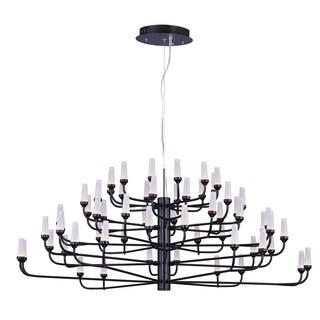 Maxim Lighting Candela Acrylic/Metal LED Multi-tier Chandelier
