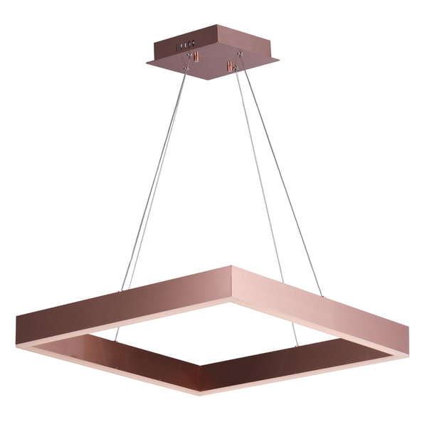 Metallika Brown Aluminum LED Pendant