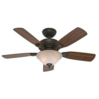 "Hunter 52082 44"" Bronze Caraway Five Minute Fan"