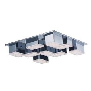 Pizzazz Silver Flush-mount LED Light