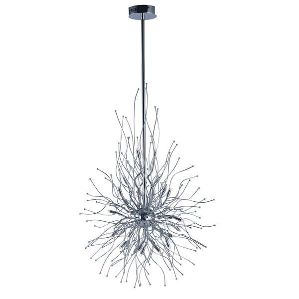 Orion Silver Iron LED Pendant