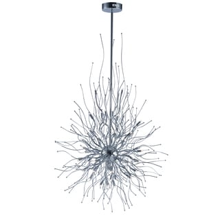 Orion Silver-colored Iron LED-Entry Foyer Pendant
