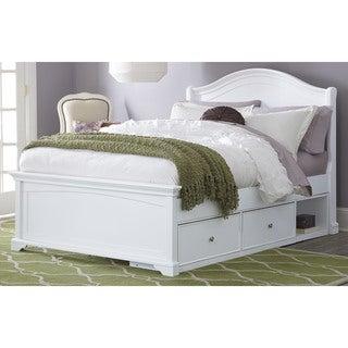 NE Kids Walnut Street Full-size White Morgan Arch Storage Bed