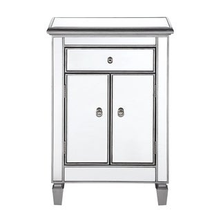 Elegant Lighting Chamberlan 1 Drawer 2 Door Cabinet