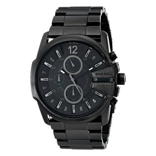 Diesel Men's DZ4180 Blackout Stainless Steel Chronograph Watch