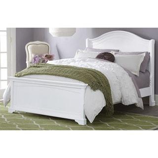 Walnut Street Morgan Arch White Full-size Bed
