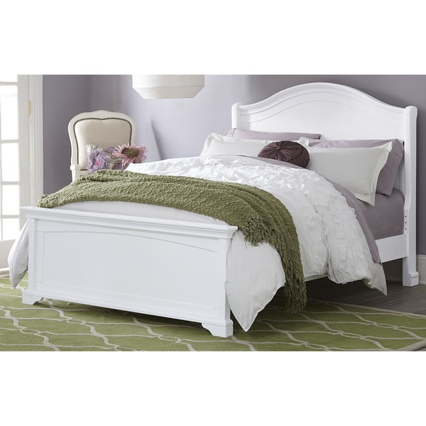 Walnut Street Morgan Arch White Full-size Bed