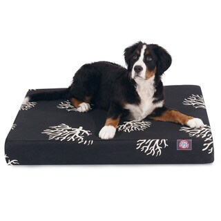 Majestic Pet Coral Orthopedic Memory Foam Rectangle Dog Bed