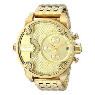 Diesel Men's DZ7287 Little Daddy Goldtone Chronograph Bracelet Watch