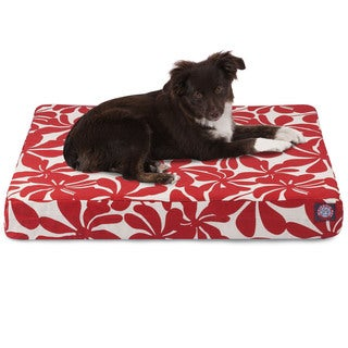 Majestic Pet Plantation Orthopedic Memory Foam Rectangle Dog Bed