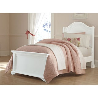 Walnut Street Twin Morgan Arch White Bed