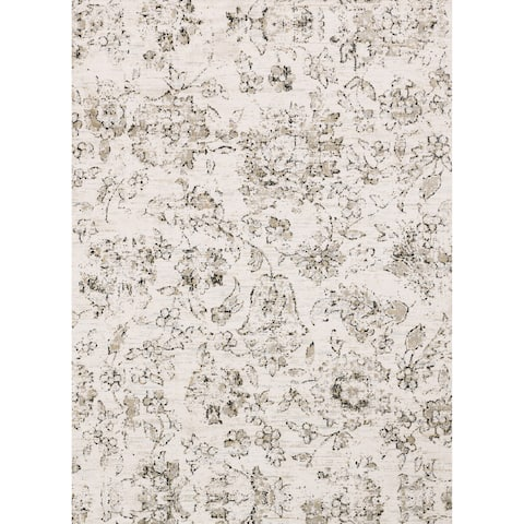 Alexander Home Verona Shabby Chic Botanical and Floral Rug