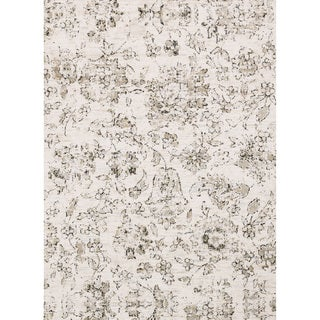 Link to Alexander Home Verona Shabby Chic Botanical and Floral Rug Similar Items in Transitional Rugs