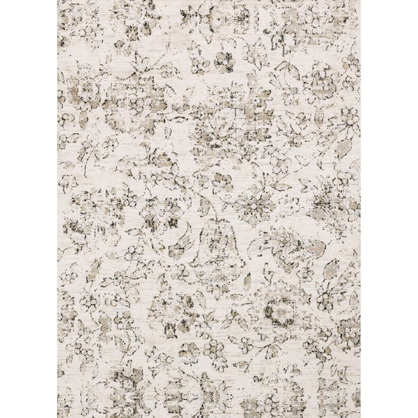 Alexander Home Verona Shabby Chic Botanical and Floral Rug. Opens flyout.
