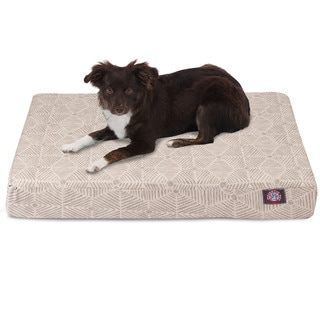 Majestic Pet Charlie Orthopedic Memory Foam Rectangle Dog Bed