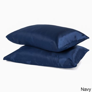 Super Soft Satin Pillowcases (Set of 2) (More options available)