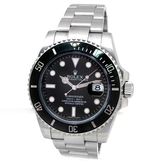 Pre-owned Rolex Men's Stainless Steel Submariner Automatic Watch