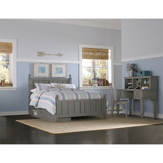 Lake House Kennedy Stone Grey Full Bed with Storage
