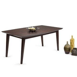 WYNDENHALL Tierney Mid Century Dining Table - Brown
