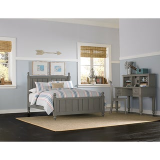 Lake House Kennedy Full-size Stone Grey Panel Bed