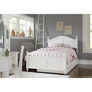 Lake House Payton White Arched Full-size Bed and Trundle