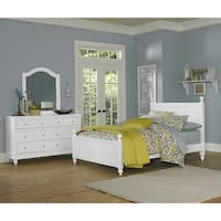 Lake House Kennedy Full White Panel Bed