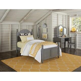 Lake House Payton Twin-size Stone Grey Arch Bed