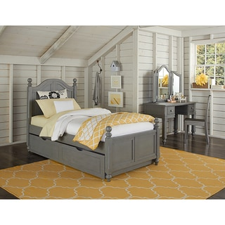 Lake House Payton Twin-size Arched Stone Grey Trundle Bed
