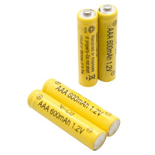 AAA Ni-cd 600mah Solar Light Replacement Rechargeable Batteries (12 pack)