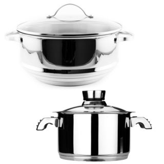 BergHoff EarthChef Premium Stainless Steel Steamer Set (Set of 2)
