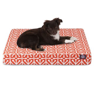 Majestic Pet Aruba Orthopedic Memory Foam Rectangle Dog Bed