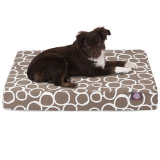 Majestic Pet Fusion Orthopedic Memory Foam Rectangle Dog Bed