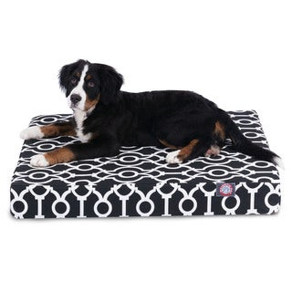 Majestic Pet Athens Small Orthopedic Memory Foam Rectangle Dog Bed